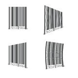 Bar code set Royalty Free Stock Photo