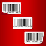 Bar-code set. Royalty Free Stock Image