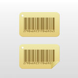 Bar code Sticker Royalty Free Stock Photo