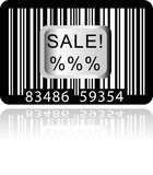 Bar Code Sticker Royalty Free Stock Image