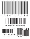 Bar codes Royalty Free Stock Images
