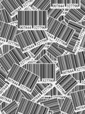 Bar codes background Royalty Free Stock Image
