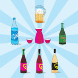 Bar collection Stock Photography