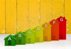 Toy  blocks as increasing graph bar, infographic Royalty Free Stock Photos