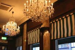 Bar confortável no distrito da barra do templo em Dublin Ireland fotos de stock royalty free