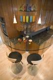 Bar contemporain moderne superbe image stock