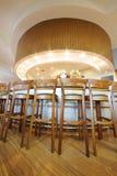 Bar counter for beer taste in Ochakovo factory Royalty Free Stock Image