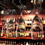 Bar counter Royalty Free Stock Image