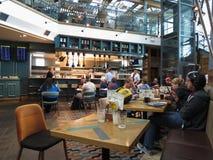 Bar d'aéroport de Stansted Photo stock