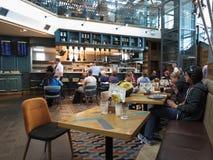 Bar d'aéroport de Stansted Images libres de droits