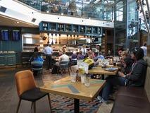 Bar d'aéroport de Stansted Photographie stock libre de droits