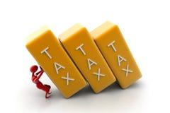 Bar d'impôts Photo stock