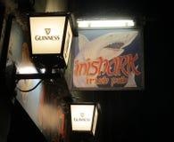 Bar d'Irlandais d'Inishark Photo libre de droits