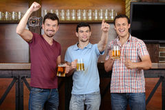 Bar da cerveja Imagens de Stock
