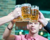 Bar de bière Photographie stock