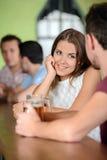 Bar de bière photographie stock libre de droits