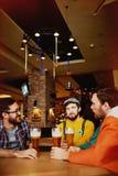 Bar de bière de métier en Irlande Photo stock