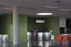 Bar de caffe d'étudiant Image stock