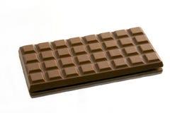 Bar de chocolat d'isolement Image stock