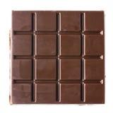 Bar de chocolat foncé Images libres de droits