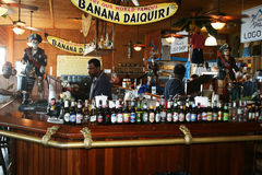 Bar de daiquiri de banane photos libres de droits