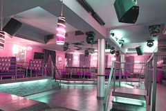 Bar de disco Images libres de droits