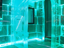 Bar de glace, Barcelone Image stock