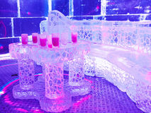 Bar de glace, Barcelone Photo libre de droits