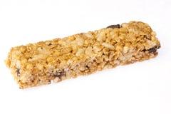 Bar de granola d'avoine photographie stock libre de droits