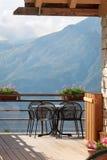 Bar de haute montagne Photographie stock