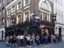 Bar de Londres Imagens de Stock