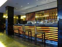 Bar de nuit Photographie stock