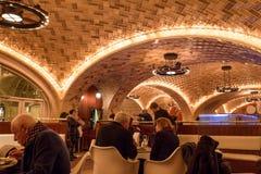Bar de ostras NYC de Grand Central Foto de archivo libre de regalías