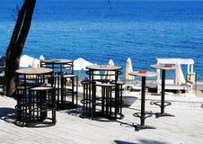 Bar de plage Image libre de droits