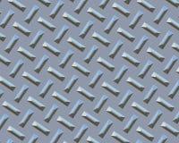 Bar de plage de chrome de plaque de diamant Images libres de droits