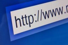 Bar de recherche d'Internet images stock