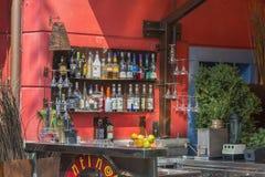 Bar de rue image stock