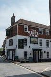Bar de Rye Le Sussex est l'Angleterre image stock