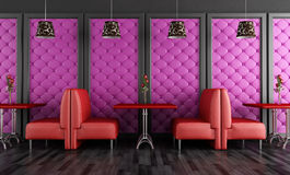 Bar de salon Photo stock