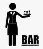 Bar, desing, vector illustration. Stock Photo