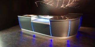 bar display neon Στοκ Φωτογραφίες