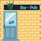 Bar door Stock Photo