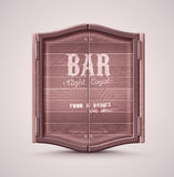 Bar Doors Royalty Free Stock Images