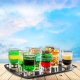Bar drinks Stock Photography