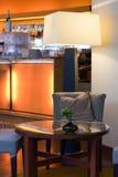 Bar du hôtel Photo libre de droits