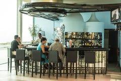 Bar du hôtel La Havane Photo libre de droits