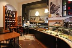 Bar elegante a Roma Immagine Stock