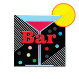Bar emblem Stock Photos