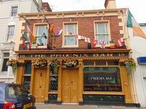 Bar en Irlande Images stock