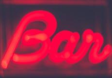Bar entrance Stock Photography